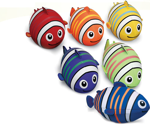 Giant Fish Footballs - Set of 6