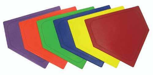 Poly Home Bases - Set of 6