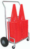 "Double EZ-Roll 12""/18"" Cone Cart"