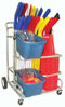 EZ-Roll Hockey Equipment Cart