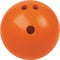 Champion Sports Rubberized Bowling Ball - 3 lbs. (Orange)