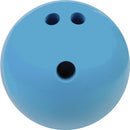 Champion Sports Rubberized Bowling Ball - 4 lbs. (Blue)