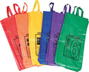 Colored/Numbered Potato Sacks - Set of 6
