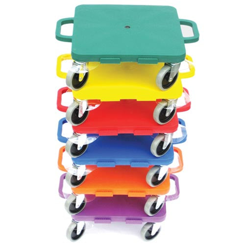 All Surface Connect-A-Scooters (Set of 6)