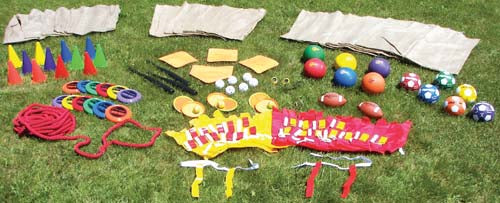 Field Day Activity Pack - 98 Pieces