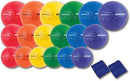 Rhino Skin Rainbow Dodgeball Set - 20 Pieces