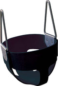 Black Enclosed Infant Swing Seat
