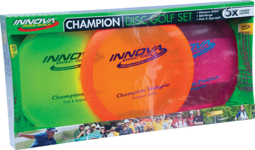 INNOVA Champion Disc Golf Set
