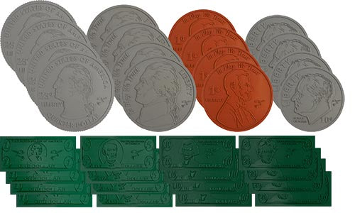 Poly Currency Set (32 Pieces)