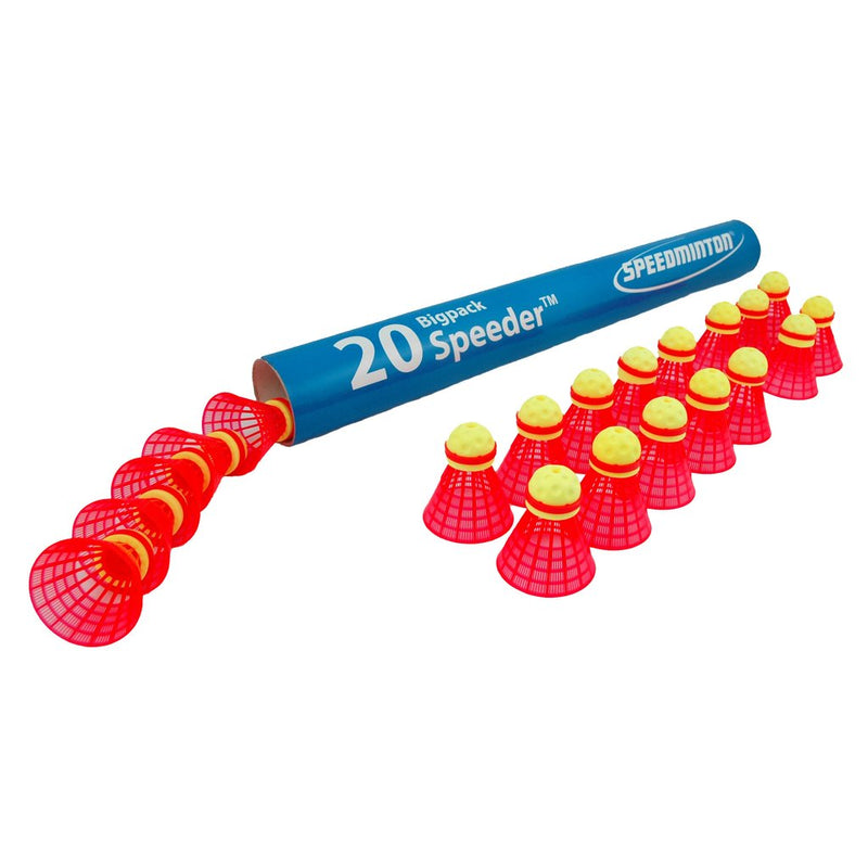 Speedminton Fun Speeders - Tube of 20