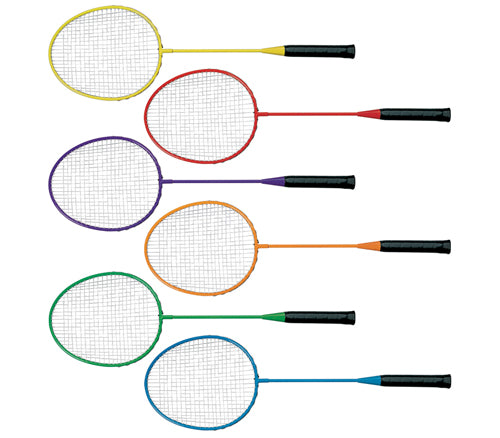 MAC-T Steel Badminton Racquet (Set/6)