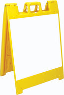 Jumbo Fold-Up Sign - Dry Erase