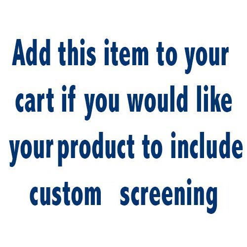 Set-Up Fee for Custom Screening