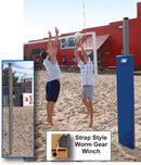 Match Point Competition Outdoor Volleyball System - Complete - Royal