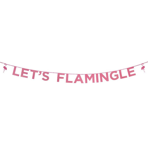 Lets Flamingle Banner