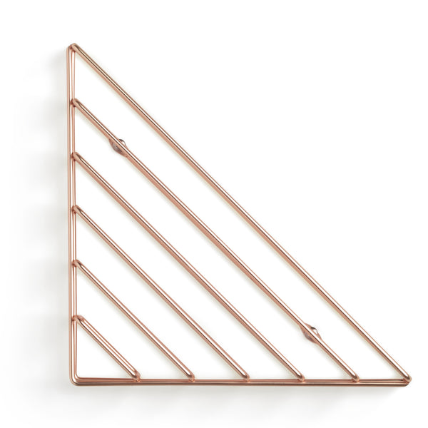 Brass Corner Shelf