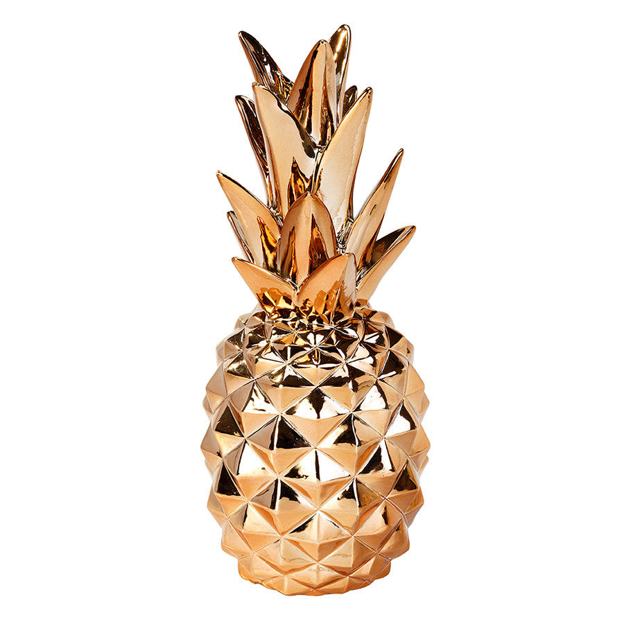 Copper Pineapple Decoration