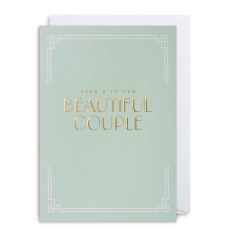Here's to the Beautiful Couple Card