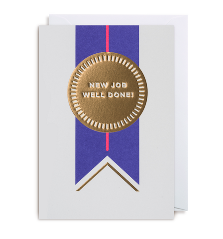 New Job -Well Done Card