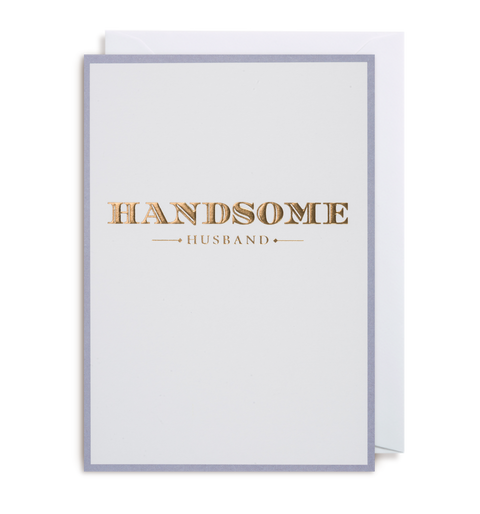 Handsome Husband Card, Postco