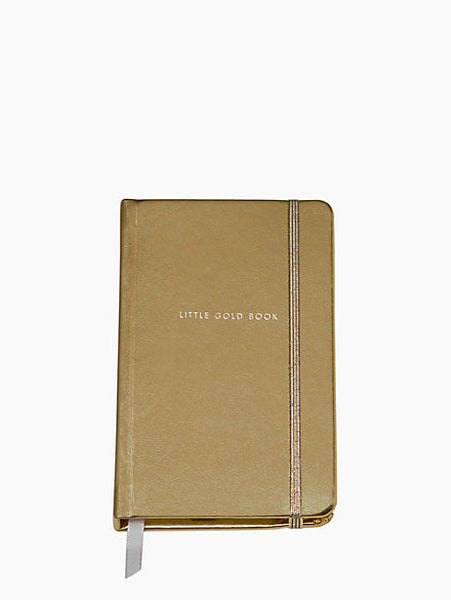 Little Gold Book Notebook By Kate Spade
