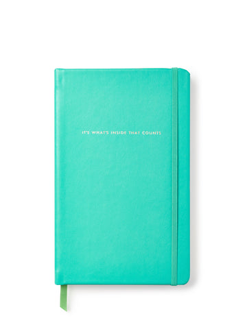It's What's Inside That Counts Large Kate Spade Notebook