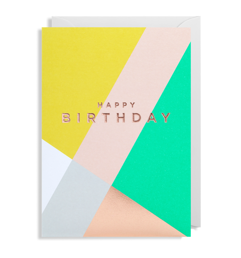 Happy Birthday - PostCo Card