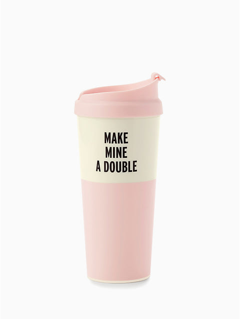 'Make Mine A Double' Thermal Mug