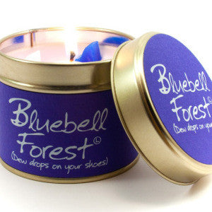 Bluebell Forest Tin Candle