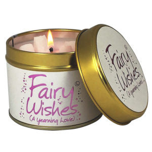 Fairy Wishes Tin Candle
