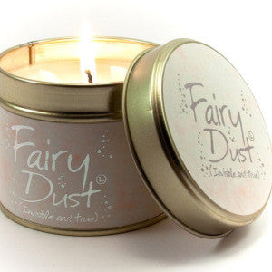Fairy Dust Tin Candle