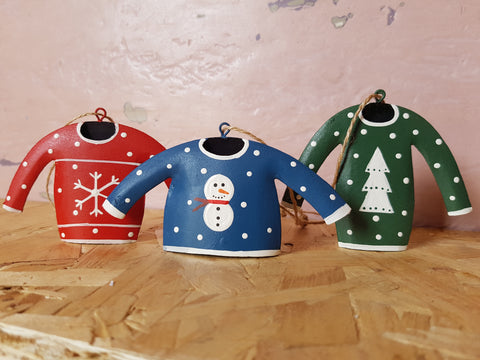 Tin Christmas Jumpers Three