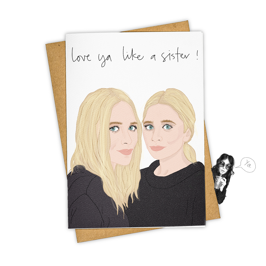 Love Ya Like A Sister! Card