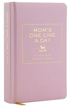 Mom's One Line A Day PRE ORDER