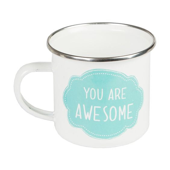 You Are Awesome Enamel Mug