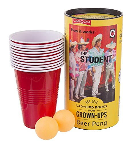 Ladybird Beer Pong Set