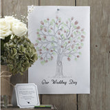 Finger Print Tree -Guest Book