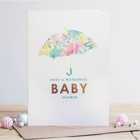 Have A Wonderful Baby Shower Card