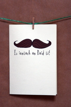 Fathers Day or Birthday Card - Irish Card