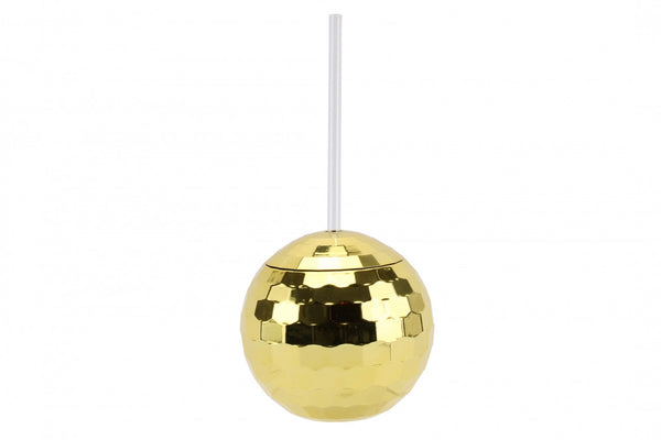 Gold Disco Ball Tumbler