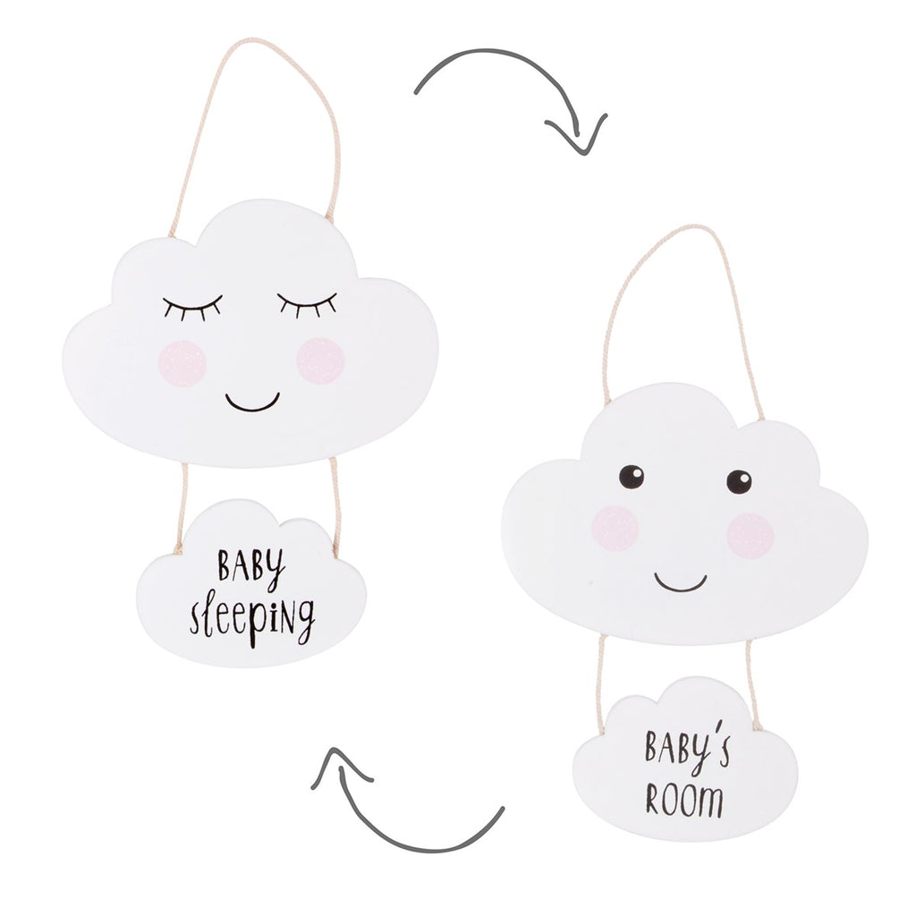 Baby's Room Cloud Plaque