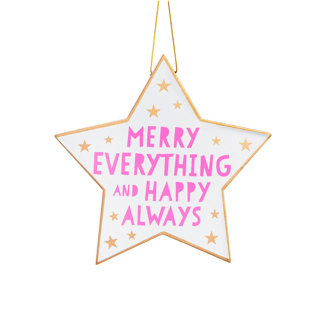 Merry Everything Christmas Star