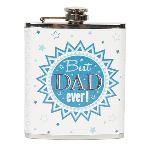 Best Dad Ever Hip Flask