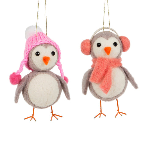 Penguin Winter Wear Hanging Decoration