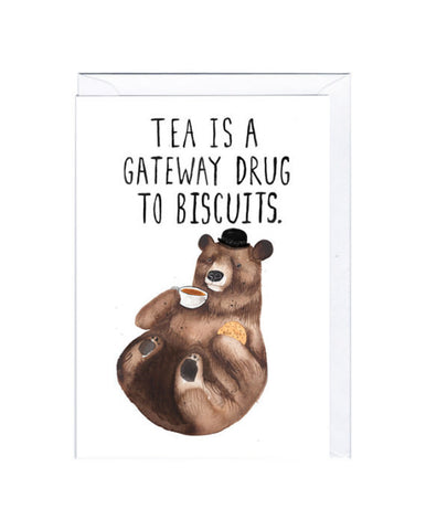 Biscuit Bear Card