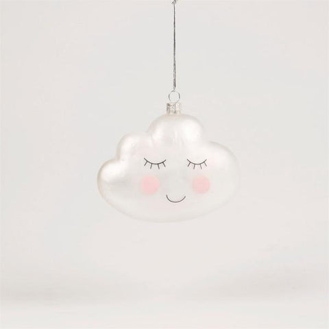 Cloud Bauble Hanging Decoration