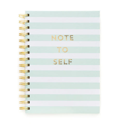 Note To Self Wire Notebook