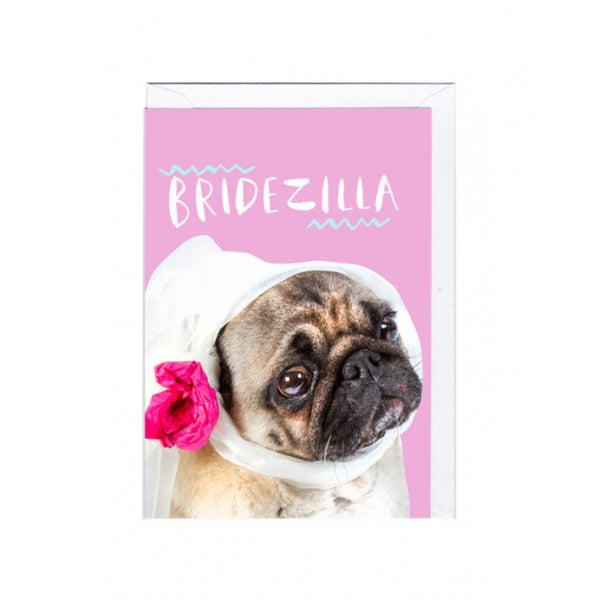 Bridezilla Card