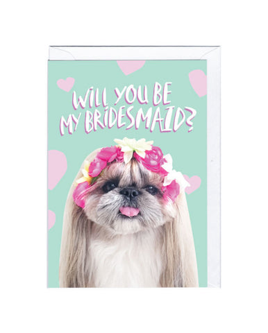 Bridesmaid Card, Jolly Awesome