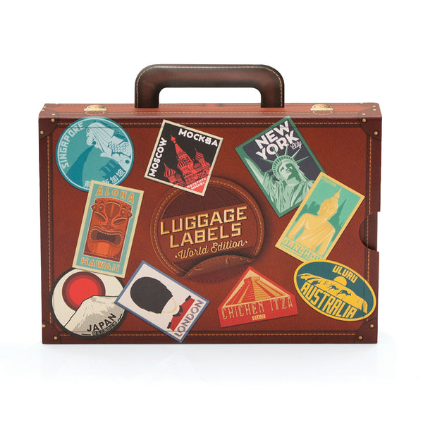 Luggage Labels World Travel Stickers